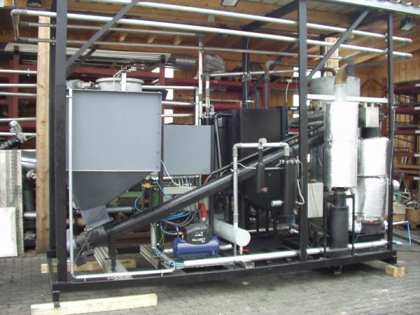 Holzgasanlage 10KW